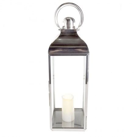 Lantern – Metal & Glass Large