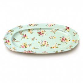 Platter – Oval Liberty Blue