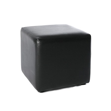Ottoman Cube – Black
