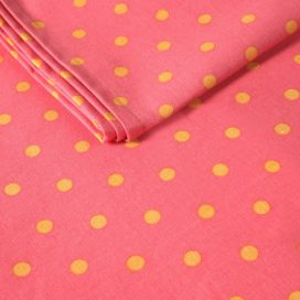 Runner – Spotty Pink with Yellow Dots