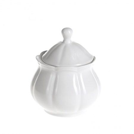 Sugar Bowl – Scalloped White
