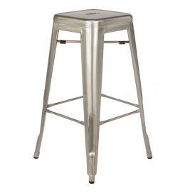 Bar Stool – Tolix Silver
