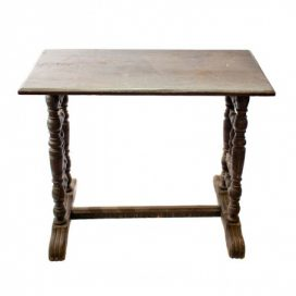 Occasional Table – Rustic Mahogany