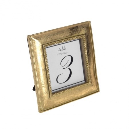Table Frame - Gold - Hire Society