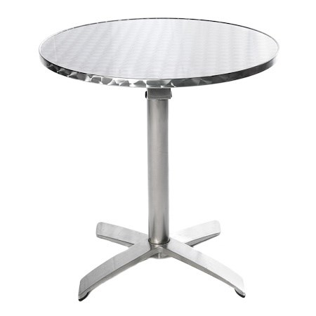 Cafe Table – Aluminium 700mm