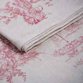 Runner – French Toile Red