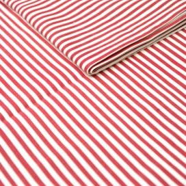 Runner – Stripe Thin Red &White