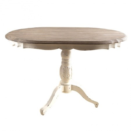 Occasional Table – Oval White