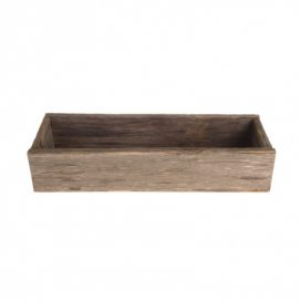 rectangle wooden container