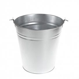 Bucket – Tin Hanging Large