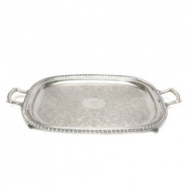 Tray – Silver Rectangular