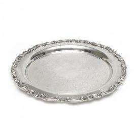 Tray – Silver Round Medium