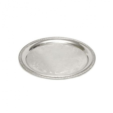 Tray – Silver Round Small