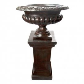 Urn and Pillar – Brown
