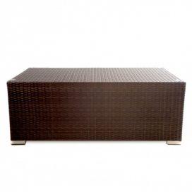 Coffee Table – Wicker (Brown)