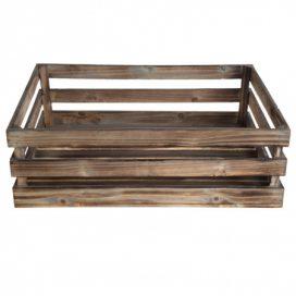 Crate – Natural Wood Large