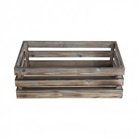 Crate – Natural Wood Small
