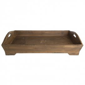 Tray – Wooden Rustic Large
