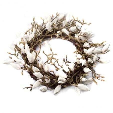 Wreath – Magnolia White