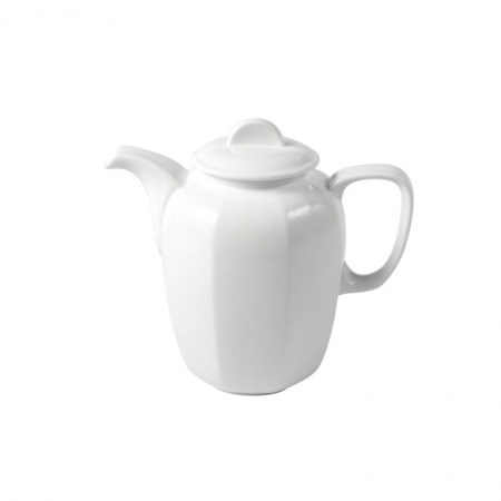Teapot – Wedgwood Hex White (Small)