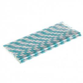 Paper Straws – Blue