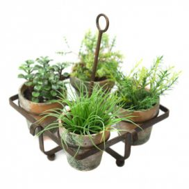 Pots in Stand – Decorative
