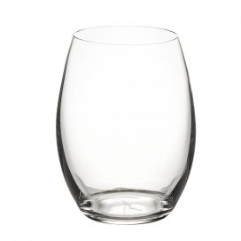 white wine glass (stemless)