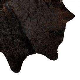 black cow hide