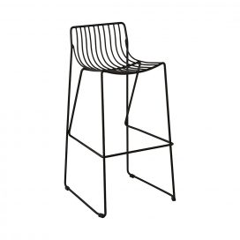 Bar Stool – Wire Black