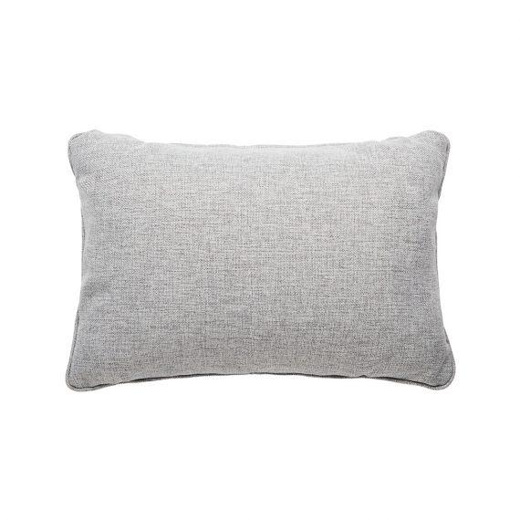 Pebble Rectangle Cushion – Grey