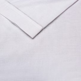 white linen serviette