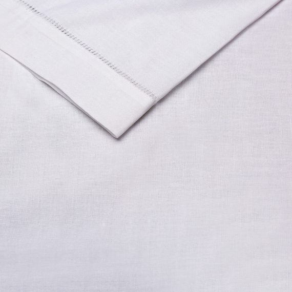 Serviette – White (Hemstitch)