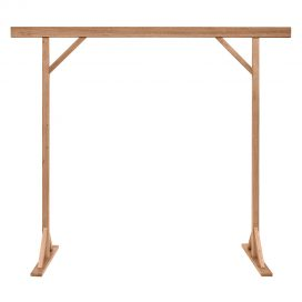 Arbour – Timber Natural