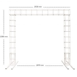 Arbour – Modular White (1 Top Piece)