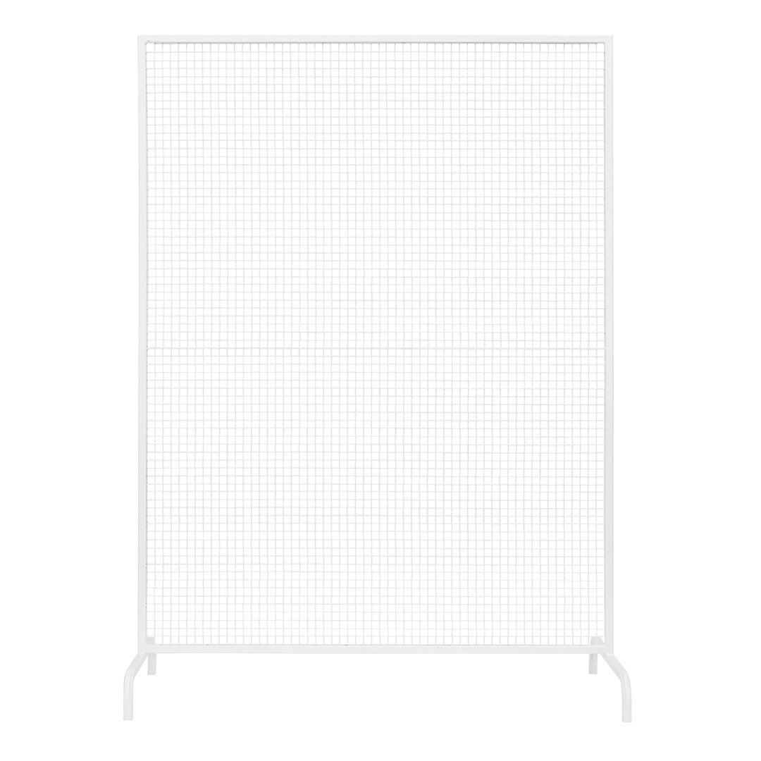 Wire Mesh Ceremony Backdrop White Hire Society