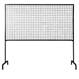 Black Mesh Adjustable Screen