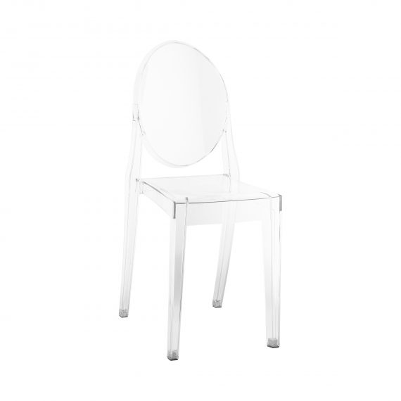 Dining Chair – Ghost Clear