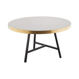 Coffee Table – Concrete Look (Black)
