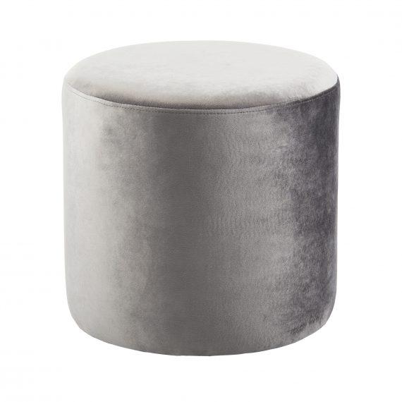 Ottoman – Round Grey