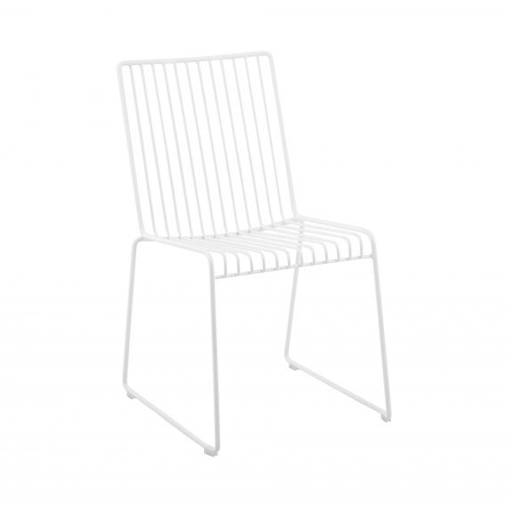 Dining Chair – Linear White