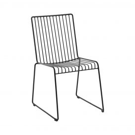Dining Chair - Linear Black