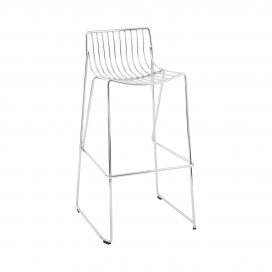 Bar Stool - Wire Chrome