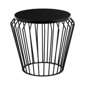 Side Table – Wire Worx Black