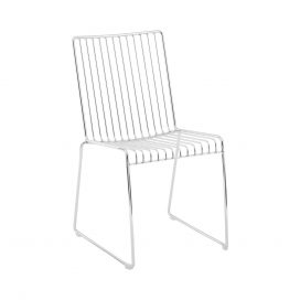 Dining Chair – Linear Silver