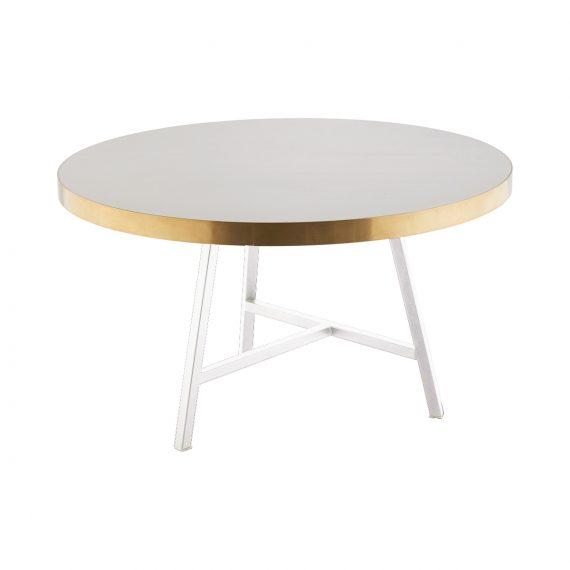 Coffee Table – Concrete Look (White)