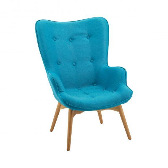 Chair – Contour Teal Armchair