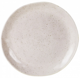 Dinner Plate - Speckled Cream