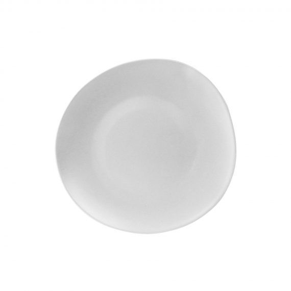 Side Plate – RG Gloss White
