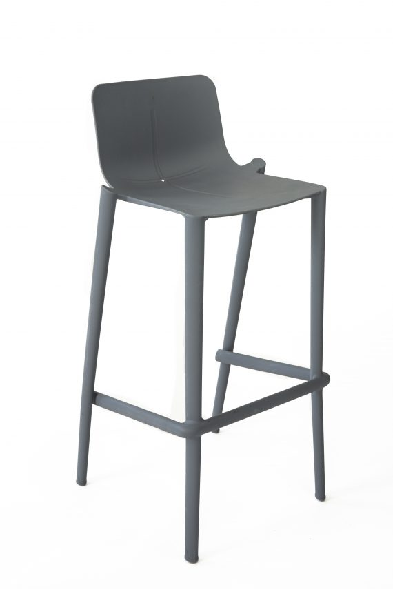 "Bar Stool – Corporate Charcoal ""form"""