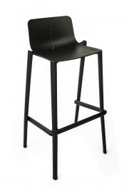 "Bar Stool – Corporate Black ""form"""